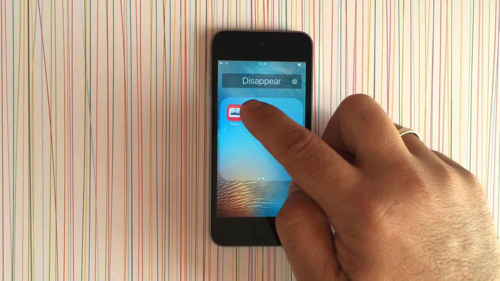 Hide unwanted apps iphone ipad